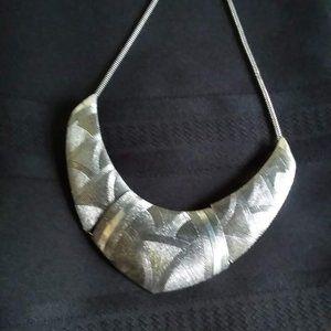 NEW Striking Semi-Bib Necklace